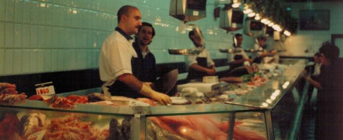 Pescados Paco tienda calle jesus